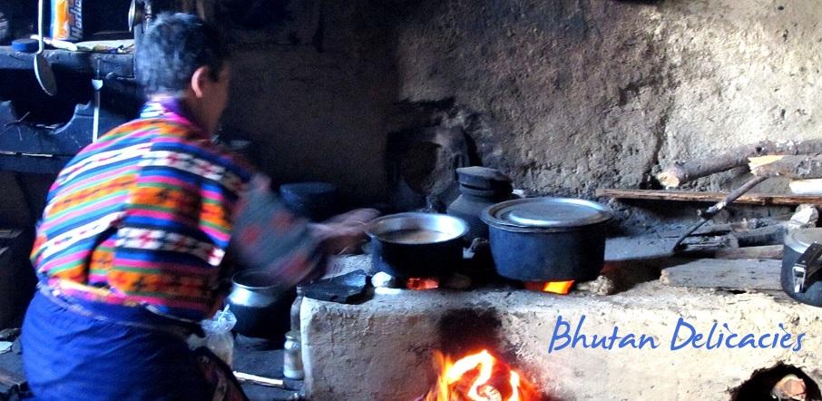Bhutan Delicacies